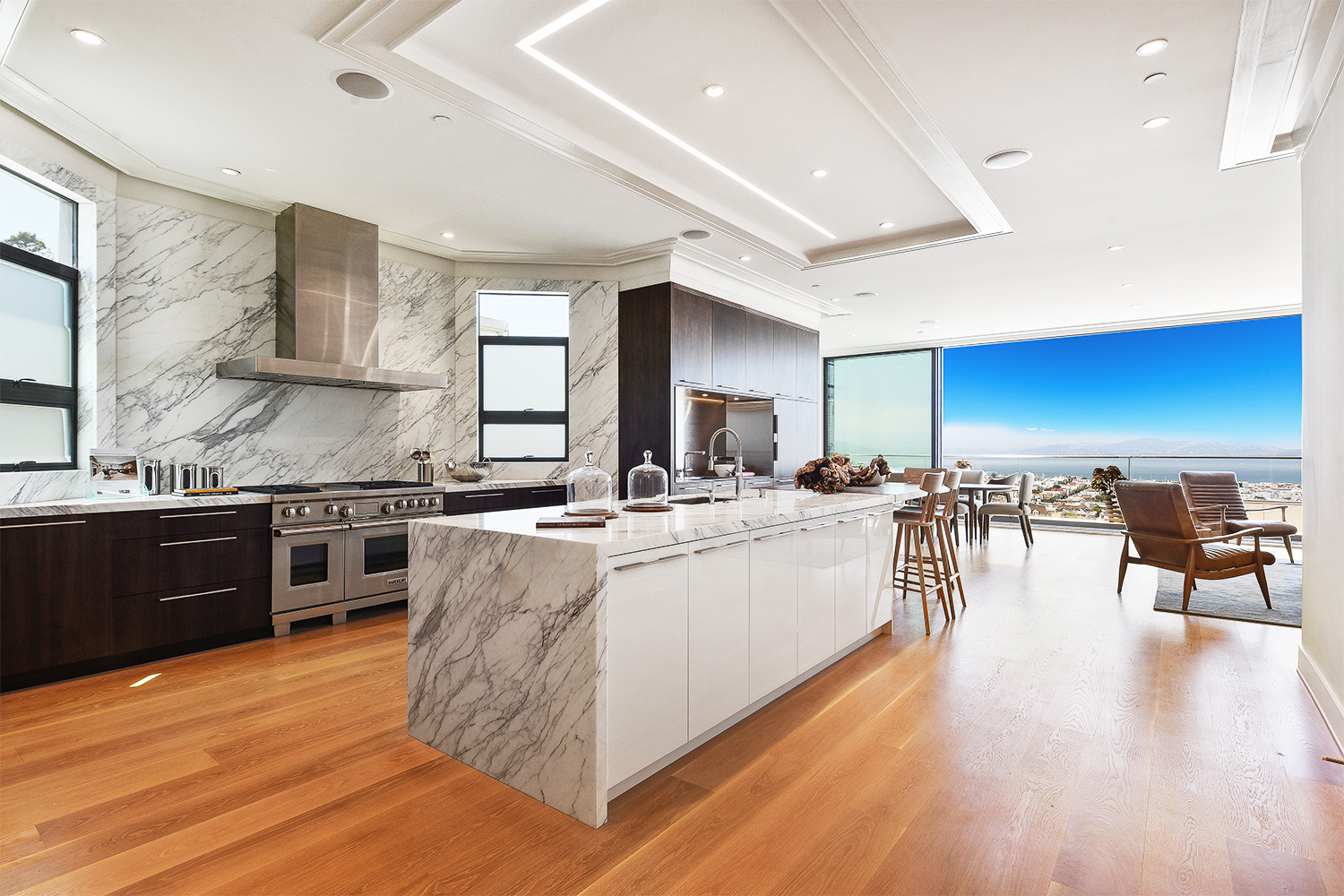 Pacific Heights Modern Mansion