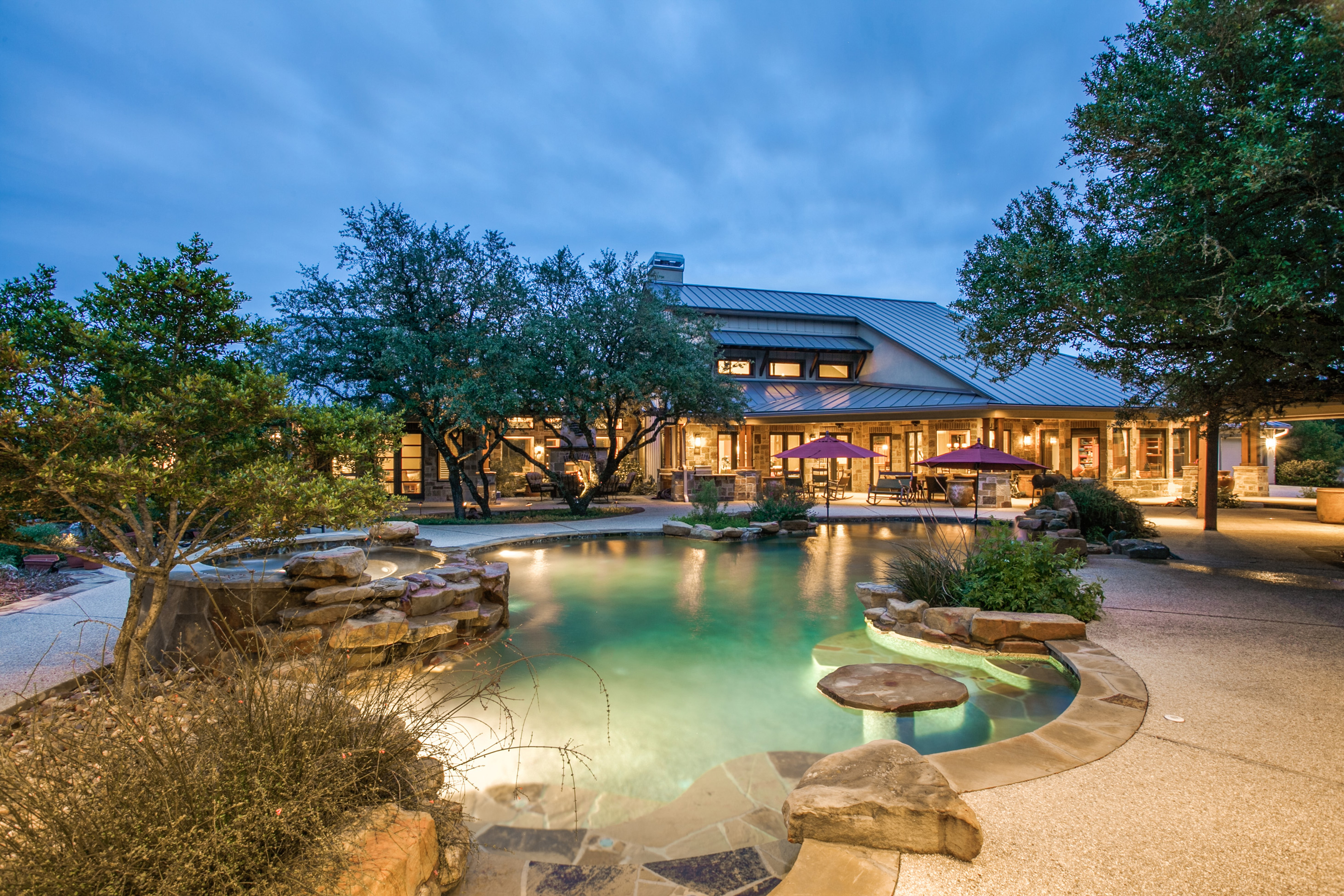 Beautiful estate on approximately 4.31 acres in Cordillera Ranch