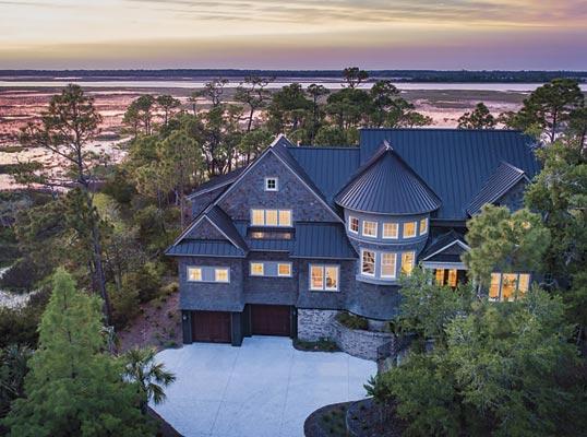 2.36 Acre Private Marshfront Retreat