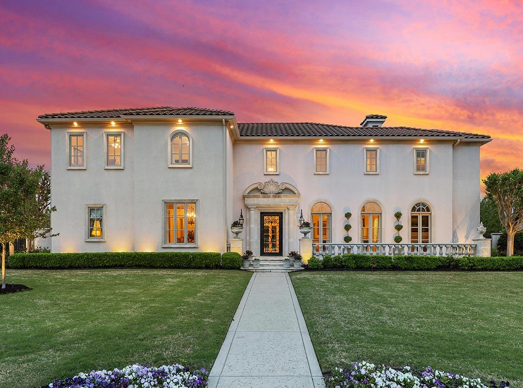 Dallas Fort Worth Santa Barbara Style Dream Home